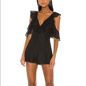 NWT LOVERS & FRIENDS ABELLA ROMPER